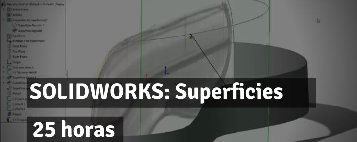 SOLIDWORKS: Superficies CSWPA-SU